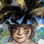 tulum-streetart-maya-maedchen