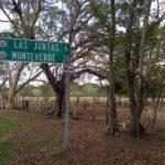 Monteverde-Schild