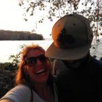 Ometepe-Sonnenuntergang-wir