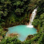 Rio-Celeste-Wasserfall