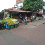 Panama-Strasse-Obst