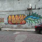 Panama-Streetart-Ananas
