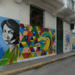 Panama-Streetart-Frau-bunt
