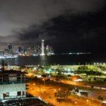 Panama-bei-Nacht