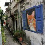 Georgetown_Streetart_Katze_Fenster