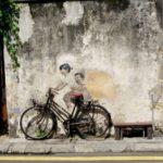 Georgetown_Streetart_Kinder_Fahrrad